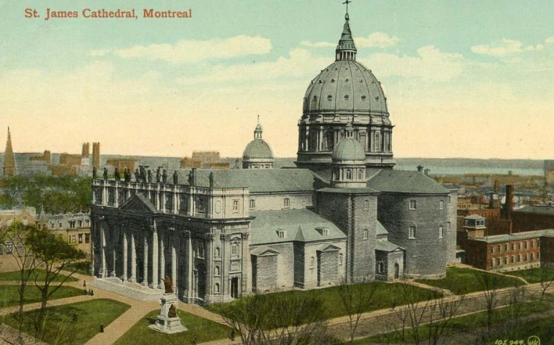 Canada - Quebec, Montreal. St James Cathedral