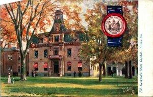 Raphael Tuck State Capitol Oilette Series Dover Delaware DE Vtg Postcard