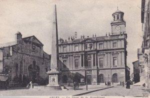 ARLES, Bouches-du-Rhone, France, 1900-1910s; La Place De La Republique