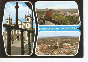 Postal 034690 : Portalegre - Portugal. Se Catedral