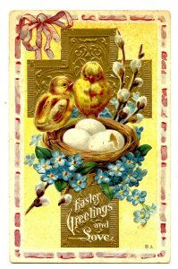 Greeting - Easter  (chicks)