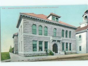 Unused Divided-Back COURT HOUSE Olympia Washington WA n4799-12