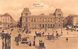 Gare du Nord Bruxelles Belgium Unused