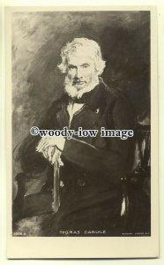 su1904  - Thomas Carlyle, a Scottish Philosopher & Satirical Writer -  postcard