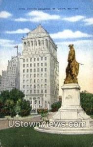 Civil Courts Bldg St. Louis MO 1953