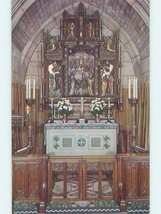Unused Pre-1980 ST. THOMAS CHURCH INTERIOR New York City NY A7547