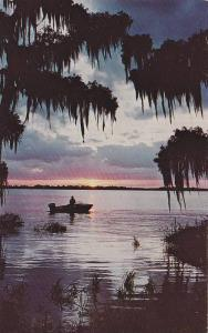 Fish - Fishing boat on water at Sunset - Days Last catch, 40-60s