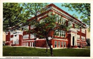 Kansas Eldorado Junior High School Curteich