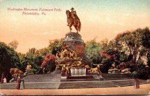 Pennsylvania Philadelphia Fairmount Park Washington Monument
