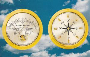 Cape Cod Wind Speed Indicator and Direction Indicator, Compass, 40-60s