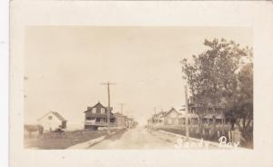 RP: Main Street , Sandy Bay, Saskatchewan , Canada , 1910s