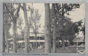 LAKE WAWASEE, Indiana , 1939 ; Sargent's Playground