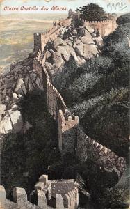 Portugal Cintra Castello dos Moros, Sintra Castle 1905