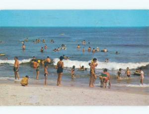 Pre-1980 BEACH SCENE Cape May New Jersey NJ d7938