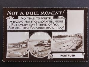 Northern Ireland ANTRIM - Not a Dull Moment in PORTRUSH c1960 Old Postcard