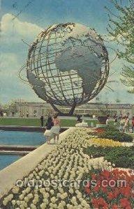 Unisphere New York, USA 1964 - 1965, Worlds Fair, Exposition, postal used unk...