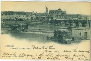 Cordoba, El Puente Y La Catedral