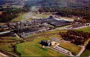 North Carolina Asheville American Enka Corporation Aerial View