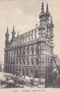 Belgium Louvain Hotel de Ville
