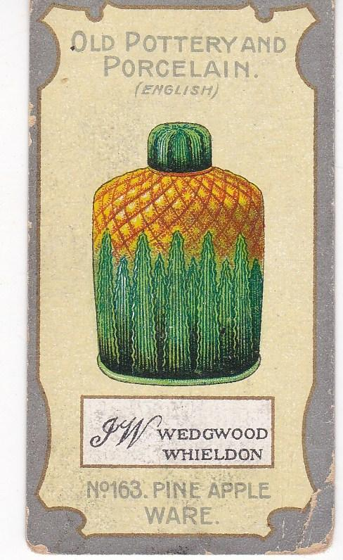 Cigarette Card R J Lea Chairman Old Pottery and Porcelain 4th series No 163