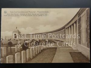 c1930 Military Memorial: Passchendaele New Zealand Memorial, Tyne Cot Cemetery