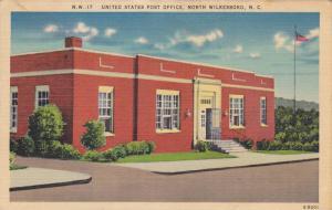 Exterior,  United States Post Office,  North Wilkesboro,  North Carolina,  PU...