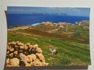 UNUSED PICTURE POSTCARD - GOZO MALTA RABAT PANORAMA VIEW QBAJJAR   (KK1859)