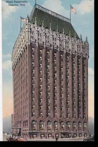 Nebraska Omaha Hotel Fontenelle Albertype