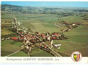 Austria, Marktgemeinde ALKOVEN-HARTHEIM, 1972 used Postcard