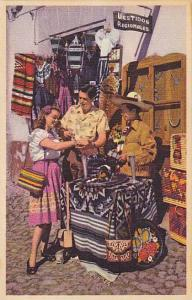 Skilled Silversmiths & Expert Weavers Exhibit Their Wares In Mexico, 1930-1940s