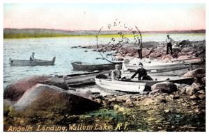 Rhode Island   Wallum Lake , Angell's Landing