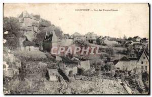 Old Postcard Domfront Rue des Fosses Plisson