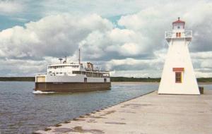 M.v. PRINCE NOVA & Lighthouse , P.E.I. , Canada , PU-1968