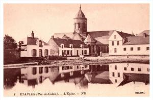 13758  Etaples      l'Eglise   Church