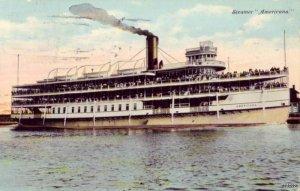 A NEW YORK EXCURSION STEAMER AMERICANA 1914