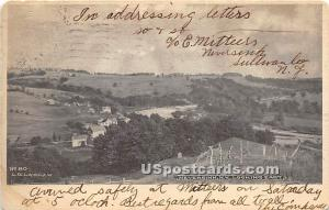 Looking East Neversink NY 1905