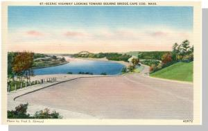 Stunning Cape Cod, Massachusetts/Mass/MA Postcard, Bourne Bridge