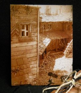 Fine Art Postcard - Homestead Lost In Time - Photography - Handmade