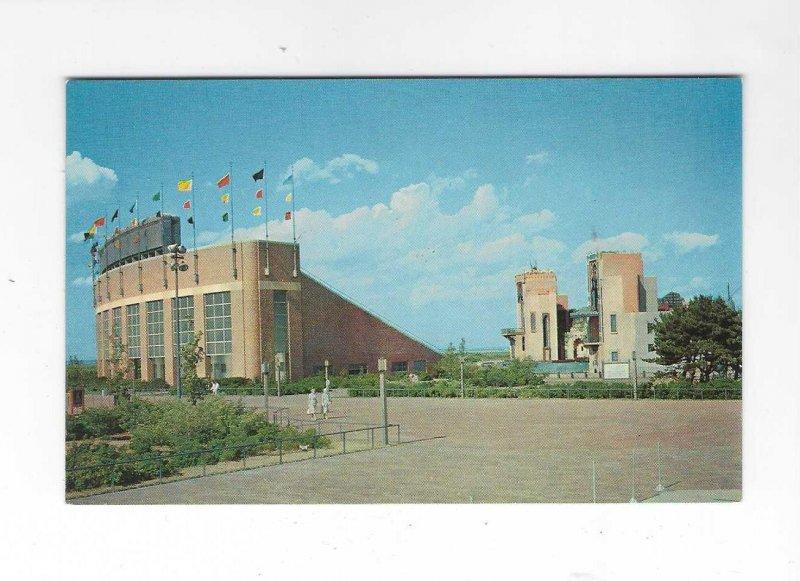Vtg 1950's/60's Marine Theater, Long Island State Park, New York Po...