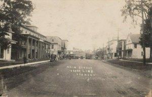 RP: DERBY LINE , Vermont, 1922 ; Main Street