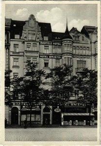 CPA AK Hamburg- Bartels und Bristol Hotel GERMANY (888465)