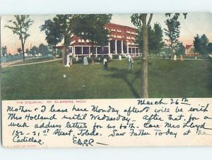 Pre-1907 THE COLONIAL HOTEL Mount Clemens Michigan MI G2668