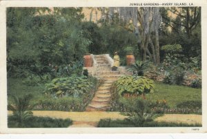 AVERY ISLAND , Louisiana , 1910s ; Court HouseJungle Gardens