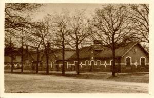 Belgium - Camp Beverloo. Blocks (WWI)