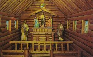 Wisconsin Rudolph Saint Jude Rustic Chapel