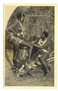 Topless Girls, South African Native Belles, South Africa, 1900-1910s