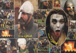 Vikings Of York 18 Photos on 2x Superb Rare Postcard s