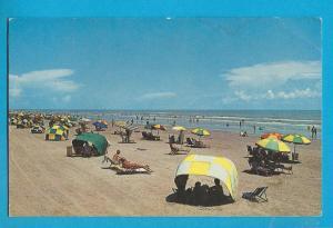 Post Card  - 1970 - Stewart Beach Galveston,  Texas     # 139