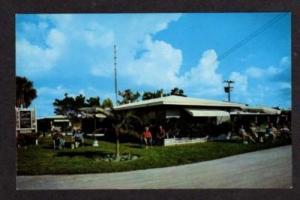 FLORIDA SARASOTA FL Sun n Sea Lodge Siesta Key Postcard