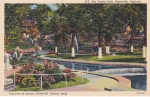 Alabama Huntsville Big Spring Park Curteich